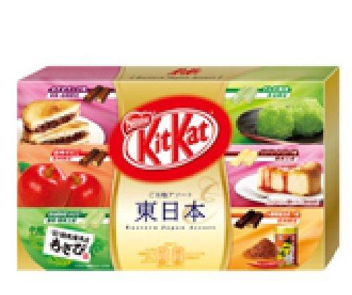 Kit Kat Mini, Flavors of Eastern Japan Assortment Box, 5.02 oz