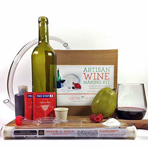 Artisan DIY Fruit Juice Wine Making Kit - Learn how to make home made wines