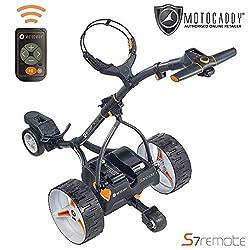 A Motocaddy electric Golf trolley