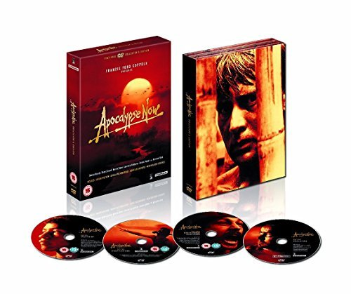 Apocalypse Now: Collector's Edition (4 Discs) DVD Box Set: Apocalypse Now + Apocalypse Now Redux + Hearts of Darkness + Cast and Crew Interviews + Screen Tests + Commentaries + Deleted Scenes + Storyboard Drawsings + many more.. by Martin Sheen