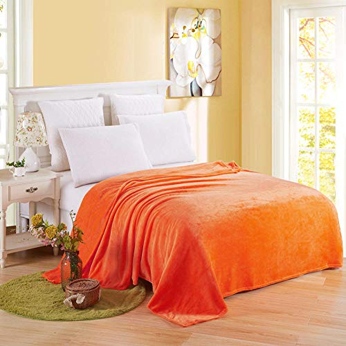 Zuonuoo Suave Decorativa PV Fleece Manta Cama Sofá