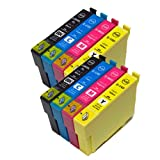 むさしのメディア EPSON(エプソン) IC4CL69x2 (4色セットx2) 互換インクカートリッジ ICチップ付き 残量表示対応