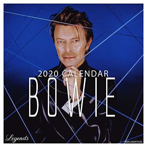 David Bowie 2020 Wandkalender, quadratisch, 30,5 x 30,5 cm, inkl. Poster