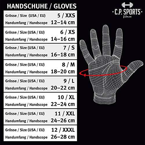Iron-Handschuh Komfort F7-1 – Fitness-Handschuhe, Trainings Handschuhe CP Sports - 4