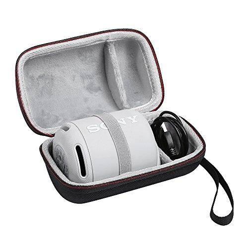 KT-CASE Funda Sony SRS-XB12,Caja de protección Sony SRS-XB10 A Prueba de Golpes A Prueba de arañazos (Negro)