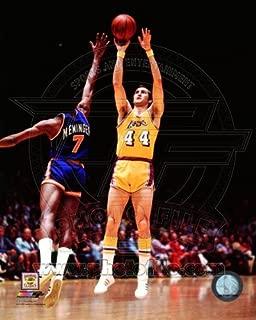 Jerry West LA Lakers 1975 NBA Action Photo 8x10