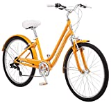 Schwinn Suburban Womens Classic Comfort Bike, 26-Inch Wheels, 7-Speed Drivetrain, 16-Inch Steel...