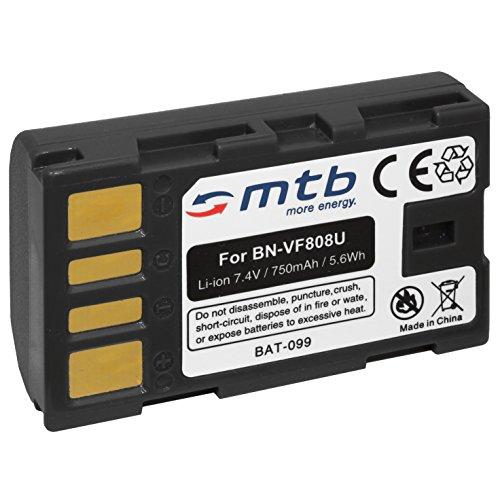 Batería BN-VF808 para JVC GZ-HD3, HD5, HD6, HD7, HD10, HD30, HD40