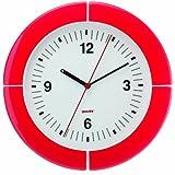 Guzzini Orologio i-clock Home, Rosso Chiaro, 37 x h4.9 cm