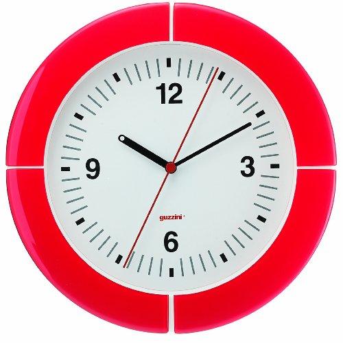 Fratelli Guzzini Home, Wanduhr i-Clock, SAN ABS Glass Mechanism