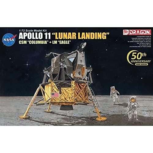 Dragon Models 1/72 Apollo 11'Lunar Landing - CSM Columbia + LM Eagle + Astronauten