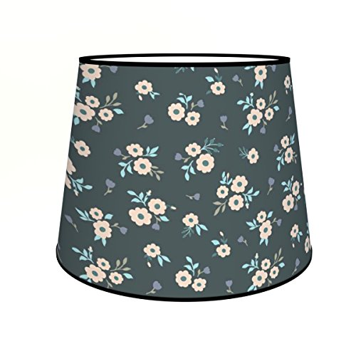 Abat-jours 7111306562246 Conique Micheline Lampadaire, Tissus/PVC, Multicolore