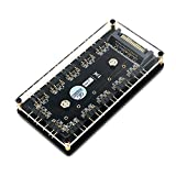 1.Questo hub RGB a 3 pin è in grado di estendere simultaneamente qualsiasi prodotto RGB indirizzabile a 5 V, occupando solo un intestazione RGB sulla scheda madre. 2. Questo hub è compatibile solo con intestazioni o controller RGB indirizzabili a 3 p...