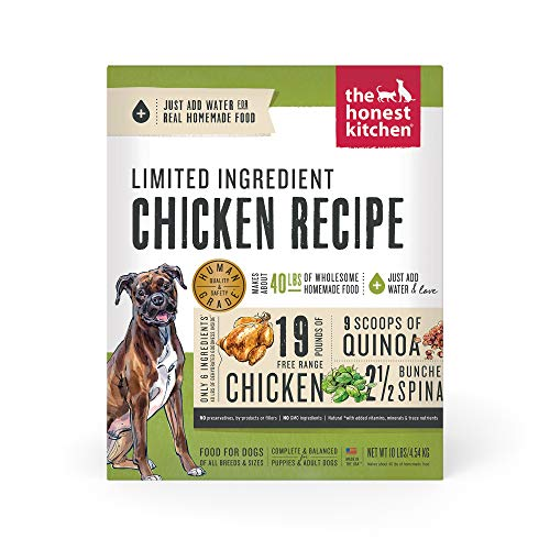 The Honest Kitchen Dehydrated Grain Free Limited Ingredient Dog Food