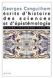 OEuvres complètes - Tome 3, Écrits d'histoire des sciences et d'épistémologie