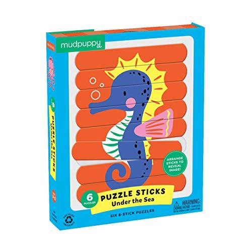 Mudpuppy Under The Sea Puzzle Sticks, Multicolor