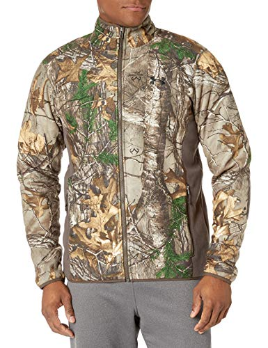 Under Armour Men's Stealth Fleece Jacket,Realtree Ap-Xtra (947)/Black, Medium