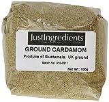 JustIngredients Essential Cardamomo Molido - 5 Paquetes de 100 gr - Total: 500 gr