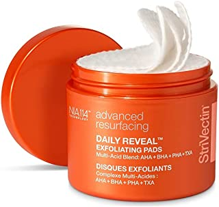 Strivectin Daily Reveal Exfoliating Pads for Unisex 60 Count Pads
