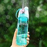 SODIAL bouteille de sport en plein air,tasse portative d'eau de voyage,bouteille vaporisateur etanche