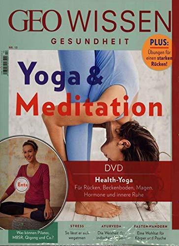 GEO Wissen Gesundheit mit DVD 13/2020