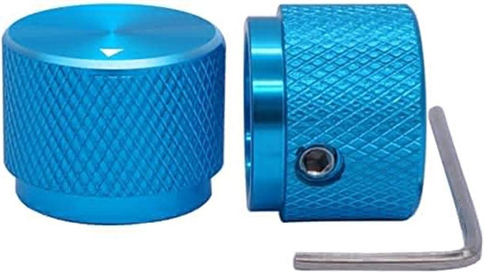 Szliyands 2pcs blue Aluminum Electronic Control Potentiom 40% OFF Cheap Sale sale Rotary
