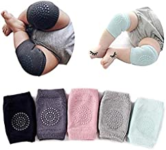 Baby Knee Pads - Crawling Anti Slip Knee Pads for Baby Unisex Clothing Accessories Toddler Leg Warmer Safety Protective Cover Infant Short Kneepads Toddlers Children Short Kneepads