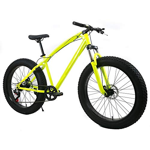 ZLDAN Snow Mountain Bike tire Width Damping MTB (Color : White)