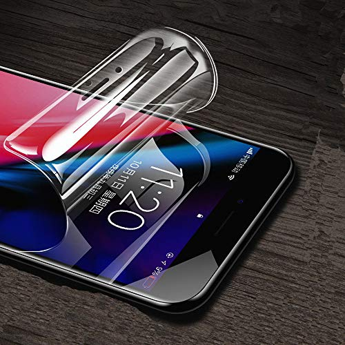 ONICO Pellicola Protettiva Per iPhone SE 2020/7 / 8 / 6S / 6,HD TPU Originale Anti-Graffo/Olio/Impronta Autoriparazione Copertura Completa Pellicola Per iPhone SE 2020/7 / 8 / 6S / 6 [2 Pezzi]