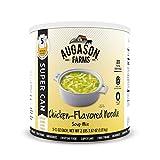 Augason Farms Chicken Noodle Chicken Flavored Soup Mix 2 lb 6.5 oz No. 10 Super Can, Model:5-10165