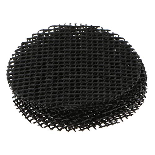 Pflanzenschutzgitter Blumentopf Abdecknetze Blumenkübel Bodennetz, Size Auswählbar - Durchmesser 8 cm # 10 Stück
