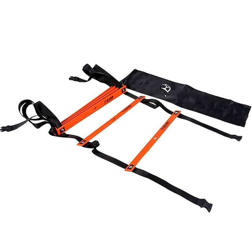 に賛成ボルト常習的スピードラダー フットボールの調整の梯子の訓練のための敏捷性の速度の梯子速いフットワークの敏捷性ドリルは便利なキャリングバッグで援助します (Size : 3m)