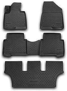 4 unidades negro Alfombras tapices goma hyundai ix35 a partir de 2010