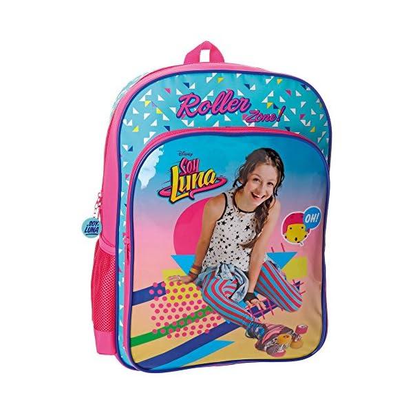 515F1PGjJkL. SS600  - Disney 48523A1 Soy Luna Roller Zone Mochila Escolar, 40 cm, 15.6 Litros, Multicolor