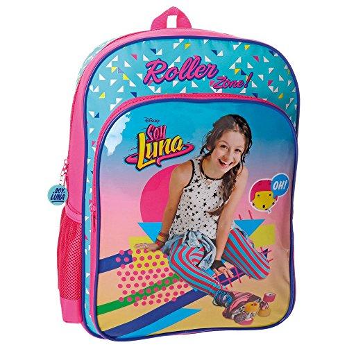 515F1PGjJkL - Disney 48523A1 Soy Luna Roller Zone Mochila Escolar, 40 cm, 15.6 Litros, Multicolor