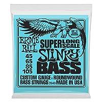 【正規品】 ERNIE BALL 2849 ロング・スケール・ベース弦 (45-105) SUPER LONG SCALE SLINKY BASS スリンキー