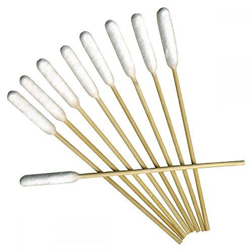 Unbranded Paquete de 50 bastoncillos Grandes de bambú para el Cuidado auditivo de Perros (Talla Única) (Variado)
