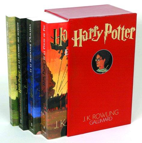 Harry Potter, coffret 4 volumes