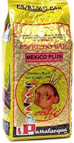 CAFFÈ PASSALACQUA MEXICO PLUS - ESPRESSO BAR - PACCO 1Kg IN GRANI
