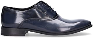 JACKAL Luxury Fashion Mens J5833BLUE Blue Lace-Up Shoes | Spring Summer 19