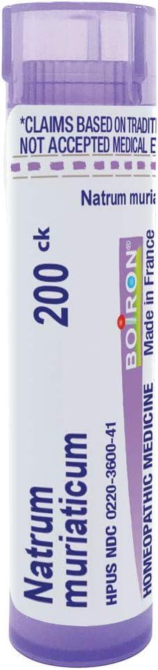 Boiron Superior Natrum Muriaticum 200Ck Homeopathic 80 Selling Pellets Medicine