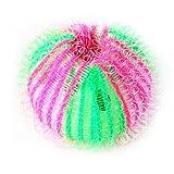 LAAT Bola de Lavado Bolas de Limpieza de Pelotas Reutilizable Anti-Pilling Anti-Peludo Contador Bouling Ball Lavadora - 6 Piezas,3.5 CM