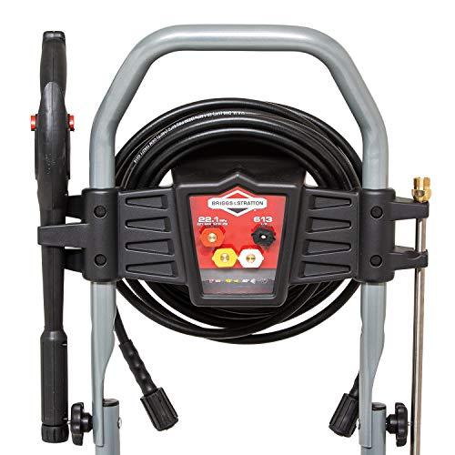 Briggs & Stratton 020739 ELITE 3200Q Petrol Pressure Washer with Quiet Sense Technology 3200 max PSI/220 Bar - 875EXi Series 190 cc Engine