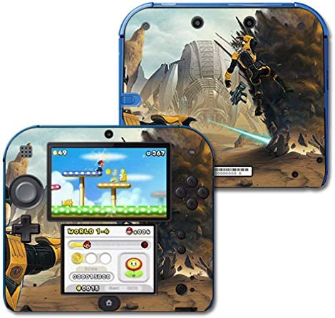 MightySkins Skin Compatible Max 90% Houston Mall OFF with Nintendo Battlefield 2DS Pr -