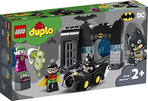 DUPLO Super Heroes DUPLO DC Comics BatmanBatcuevaconBatmóvilyJOKERCoche de Juguete para Niños Pequeñosa partir de2Años, multicolor (Lego ES 10919) 4