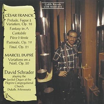 Franck / Dupre: Organ Music
