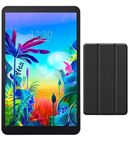 LG G Pad 5 10.1-inch (1920x1200) 4GB LTE Unlock Tablet, Qualcomm MSM8996 Snapdragon Processor, 4GB RAM, 32GB Storage, Bluetooth, Fingerprint Sensor, Android 9.0 w Mazery Case