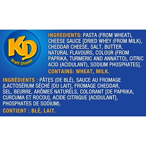 Dîner Kraft Dinner Macaroni Fromage Original 225g, Paquet de 12 - 6