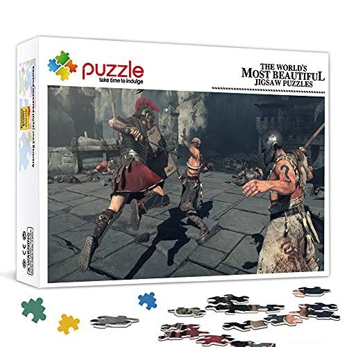 Puzzle per adulti 1000 pezzi Ryse Son of Rome 27,6 x 19,7 pollici Puzzle per adulti 1000 pezzi per adulti