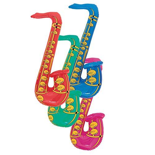 Unieke saxofoon opblaasbaar